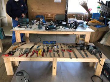 配管工事使用工事道具