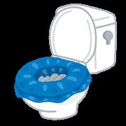 簡易トイレの図
