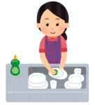 洗い物 キッチン