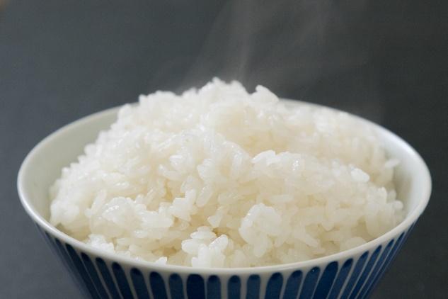 軟水で炊いた米