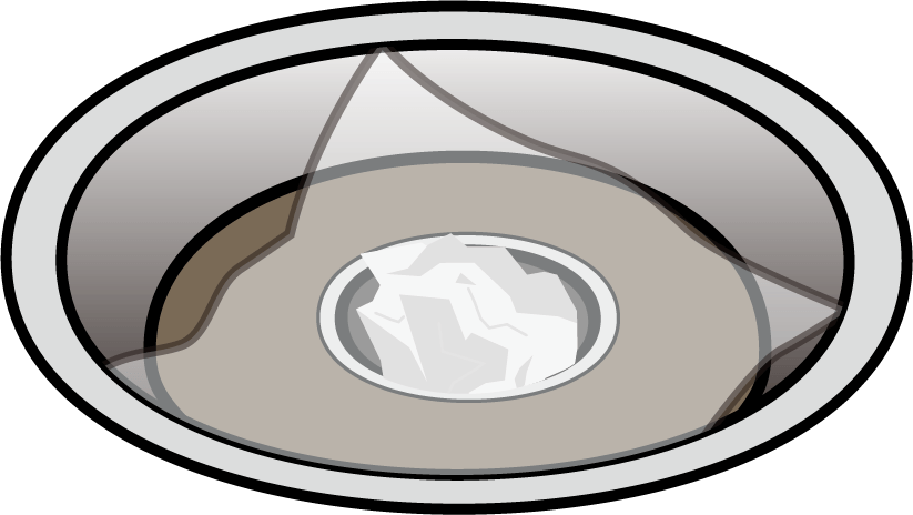 ベランダ排水溝フィルター例