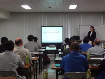 タイコー安全・施工協力会/マナー研修会 開催報告の画像